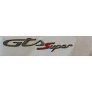 """Immagine di TARGHETTA """"GTS SUPER 300"""