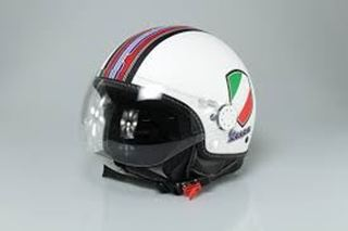 Immagine di CASCO V-STRIPES WHITE M