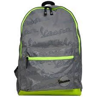 Picture of CLAXON BACKPACK LIGHT GREY BRIGHT GREEN
